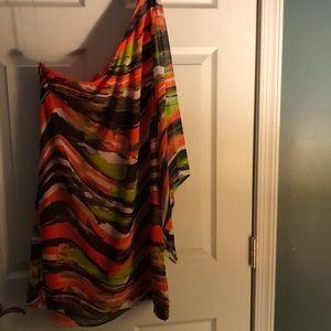 One Shoulder Dress - Worn once